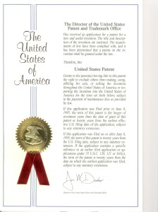 US patent cover 001